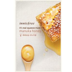тканевая маска с экстрактом меда innisfree
