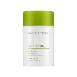увлажняющий крем для сухой и чувствительной кожи Vitamin B5