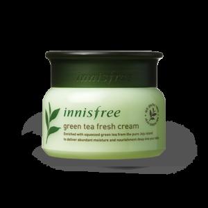 освежающий крем с экстрактом зеленого чая