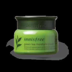 увлажняющий крем с экстрактом зеленого чая