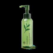 очищающее масло с экстрактом зелёного чая для глубокого увлажнения кожи
