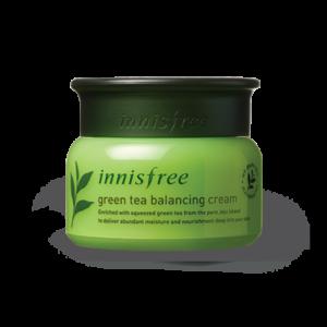 балансирующий крем с экстрактом зеленого чая