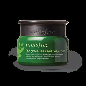 глубоко увлажняющий крем с экстрактом масла семян зеленого чая