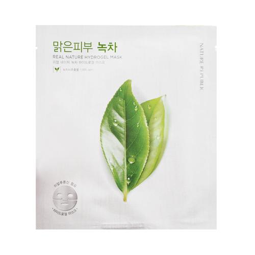 гидро-гелевая маска с экстрактом зеленого чая