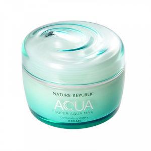 Увлажняющий крем-гель для комбинированной кожи SUPER AQUA MAX Nature Republic