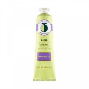 Питательный крем для рук (LIME) Nature Republic